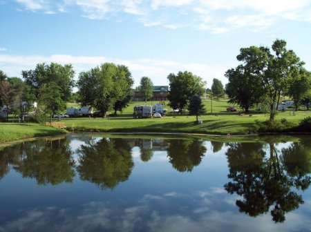 AOK Campground RV Park Is Located Just Three Miles North Of St Joseph MO Conveniently Near The I 29 And Business Hwy 71 Intersection